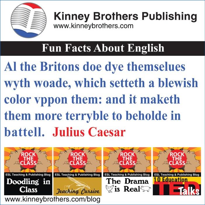 Kinney Brothers Publishing English History 1