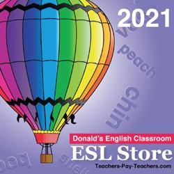 Donald's English Classroom Catalog