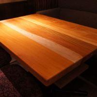 天然木無垢テーブル