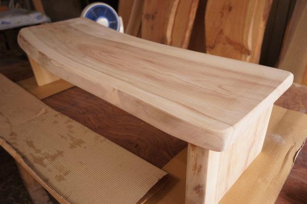 楠天然木一枚板テレビ台
