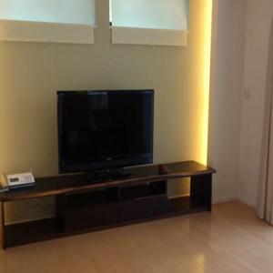 ウェンジ無垢テレビ台