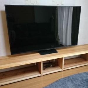 天然木一枚板テレビ台