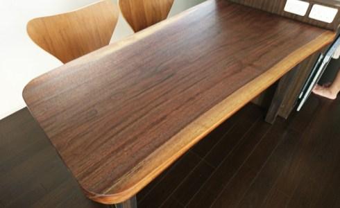 天然木一枚板テーブル