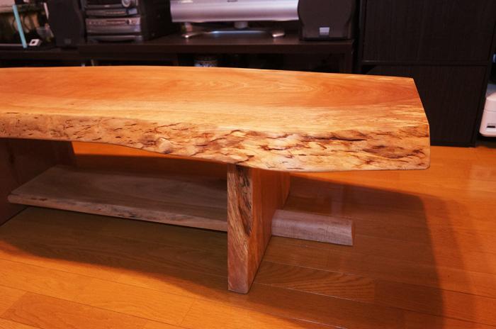 一枚板センターテーブル