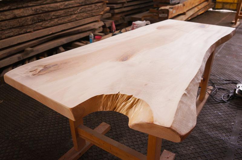 栃の木一枚板天板