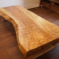 一枚板テーブル リフレッシュ