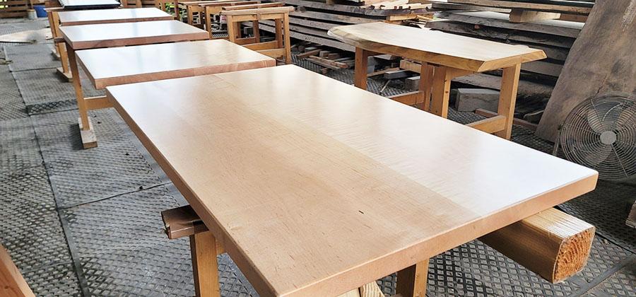 楓無垢テーブル