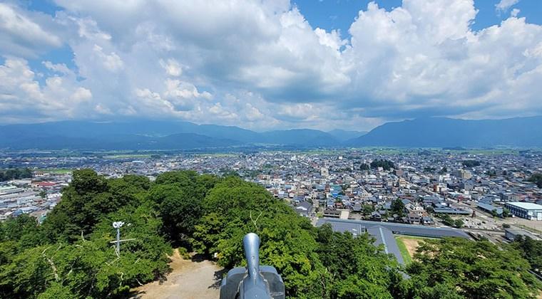 福井市内を見渡す