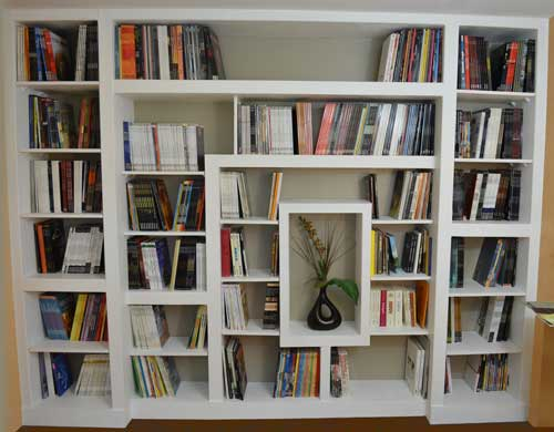 fabriquer une bibliotheque personnalisee