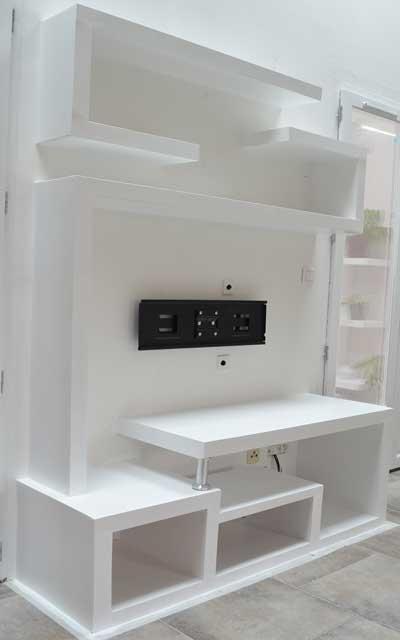 fabriquer un meuble tv