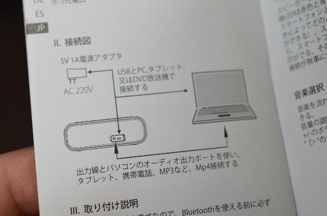出力線の説明