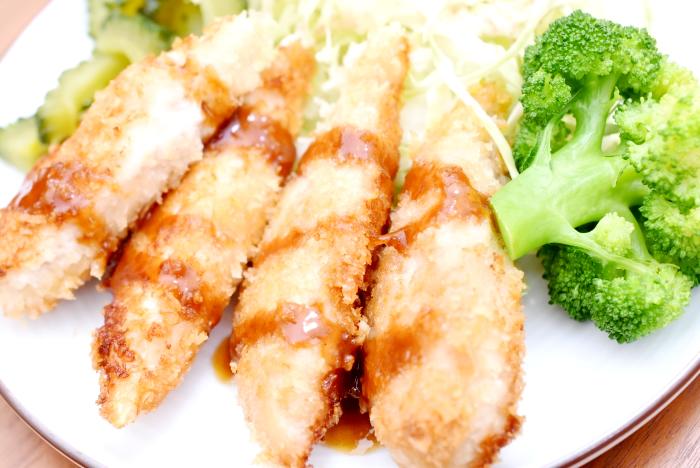 鶏のささみフライ