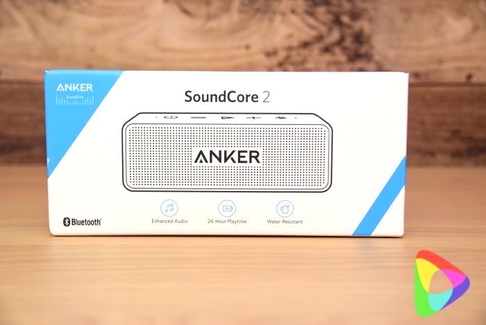 anker-soundcore2の外箱