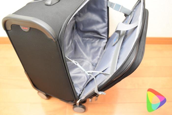 出張向けスーツケース