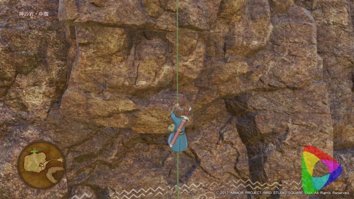 ドラクエ11 攻略|神の岩