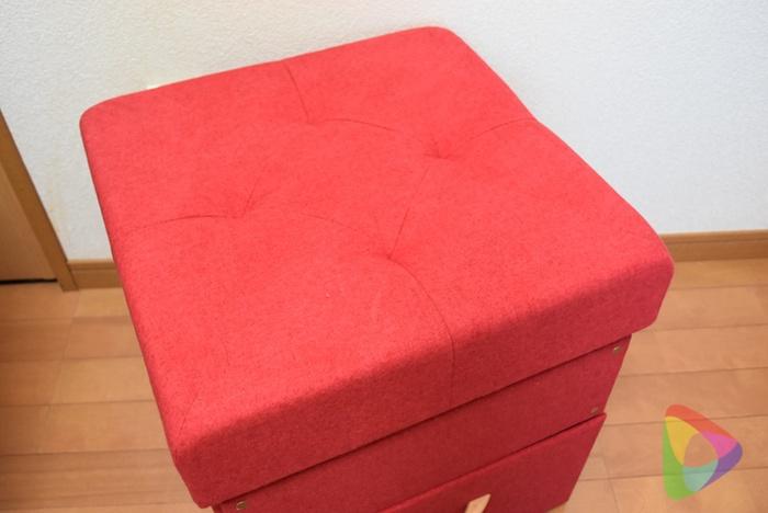サンワ収納スツール(150-SNCBOX9R)