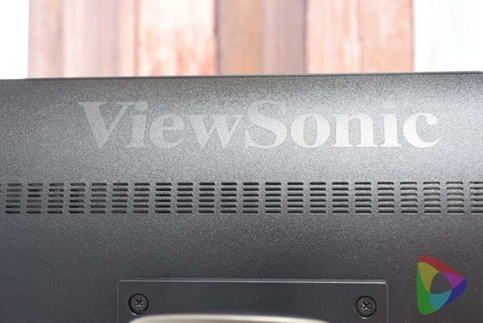 ViewSonic「VP2468」モニター裏
