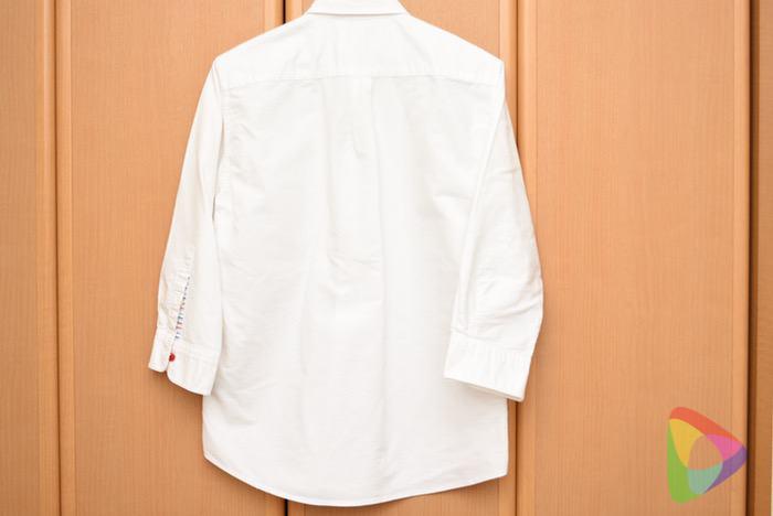 リネット仕上がり後:ワイシャツ