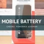 Powermix 6000mAh