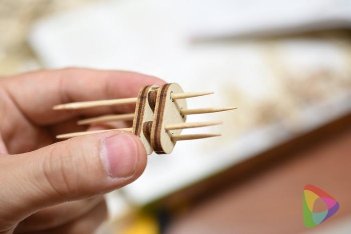 Wood trickのタワークレーン