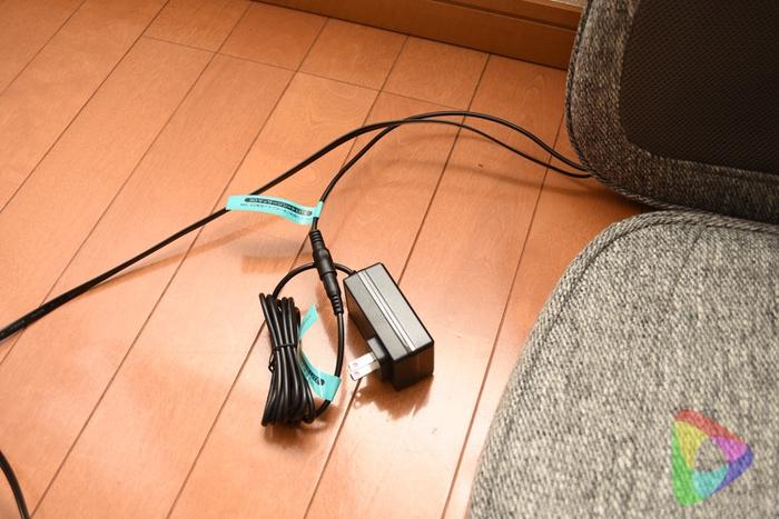 3DマッサージシートLITE のACアダプター