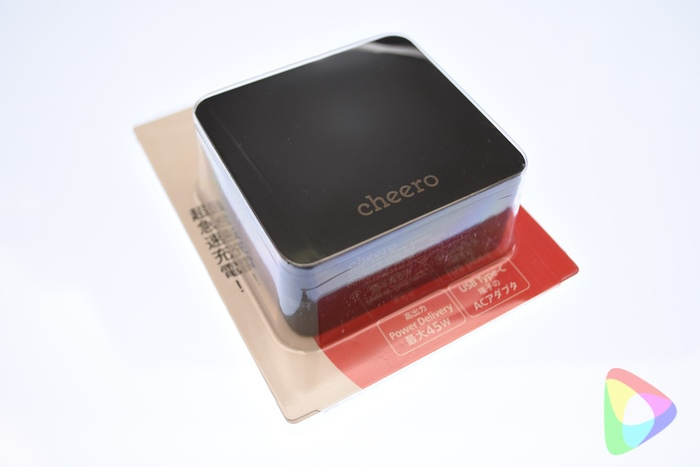 cheero USB-C PD Charger 45W