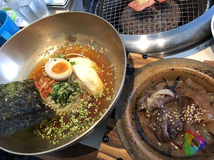 冷麺セットランチ