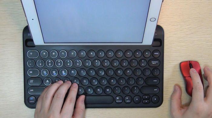 iPadで使えるマウス「400-MA129BK」