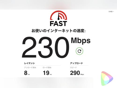 ipadの接続スピードの違い