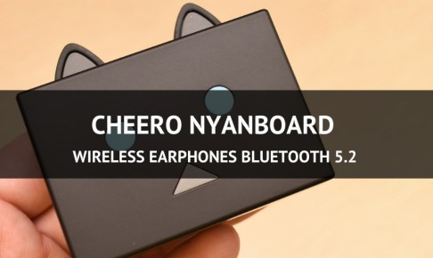cheero nyanboard Wireless Earphones Bluetooth 5.2