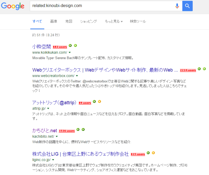 related:検索