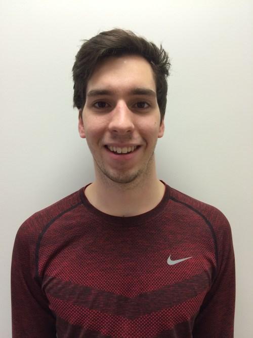 The Run Centre Team: Dustin