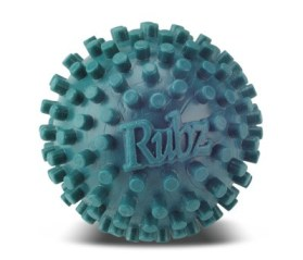 A foot massage ball can help alleviate pain