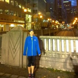 Christi Goncalves, the Maple Rdige Run Clinic leader.