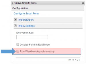 SharePoint Forms w/ Asynchronous Workflows