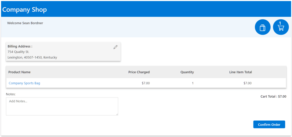 Kintivo Cart for SharePoint Online - Skip Payment