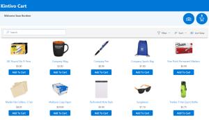 Kintivo Cart for SharePoint Online - screen shot