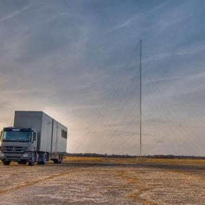 Mobile 50m AM Antenna Tower Mast