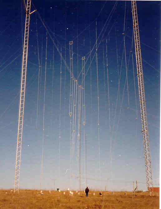 2x2 HF DIPOLE CURTAIN ARRAY (SHRTWAVE HF)