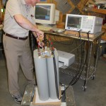 FMC2x600W 2-Port Star Point FM Combiner Under Test