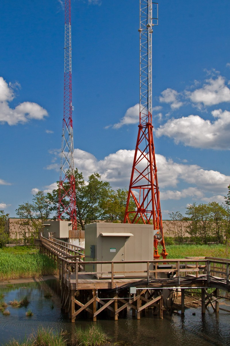 WKDM-WWRU Self-SupportingTowers