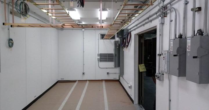 WMAL Pre-fab Transmitter Building