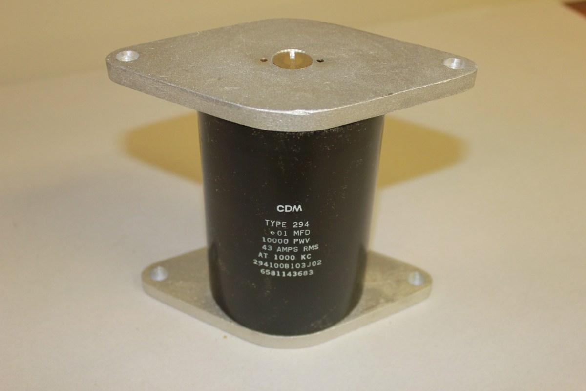 294-.01MFD Mica Capacitor