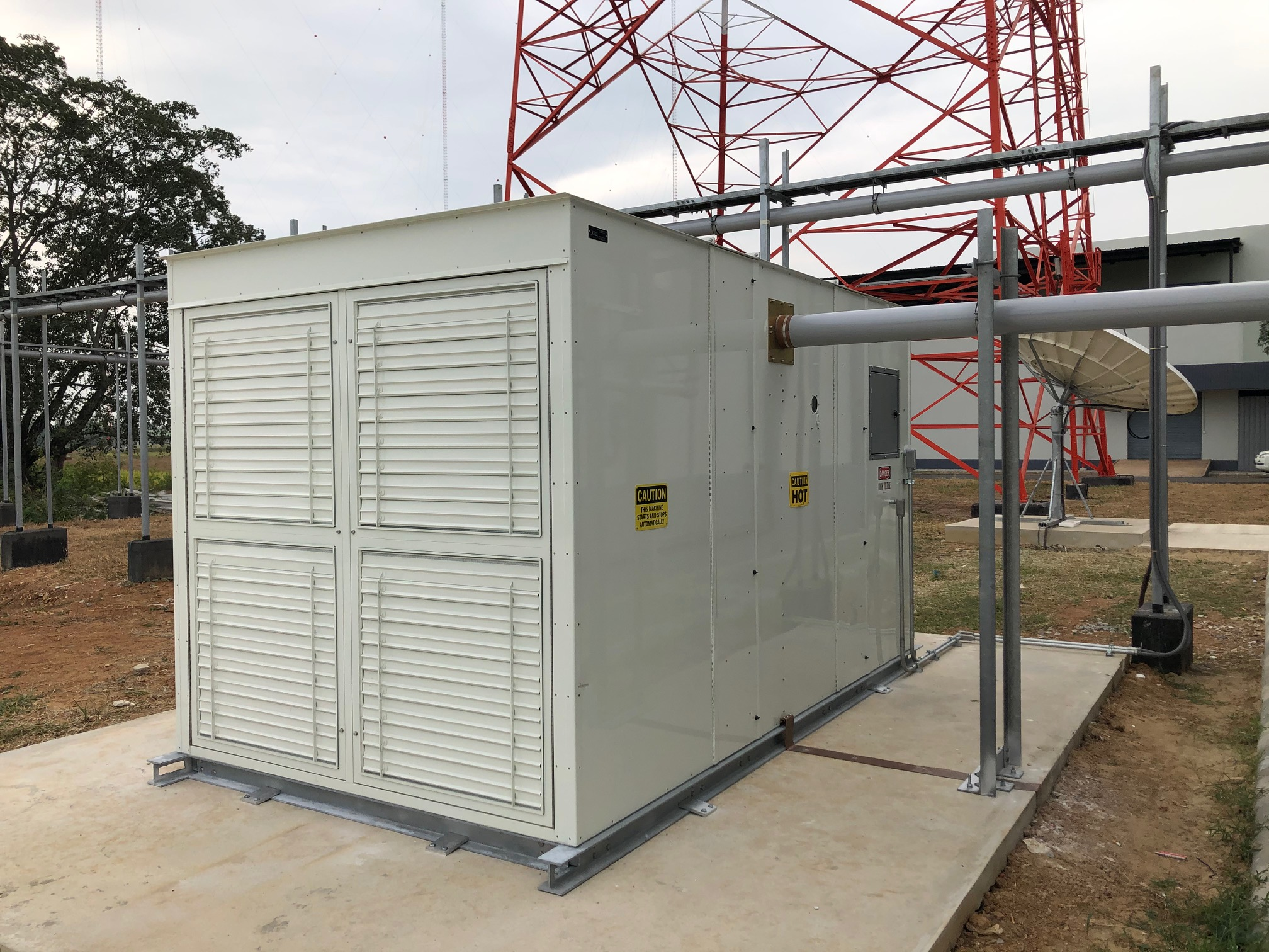 Large Medium Wave Project for the Thai Government