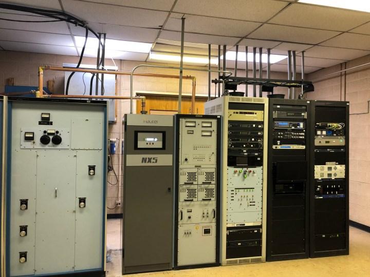 KLZ-AM Transmitter Room