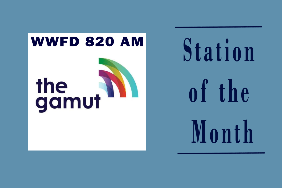WWFD 820 AM station of the month