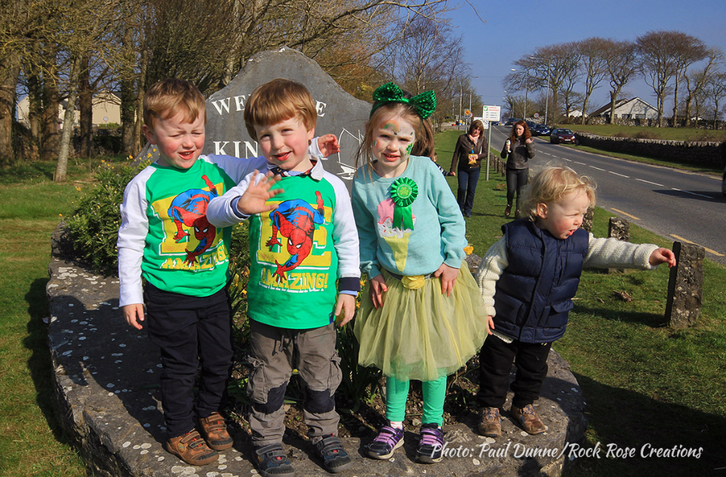 Welcome to Kinvara's St. Patrick's Day Parade 2016