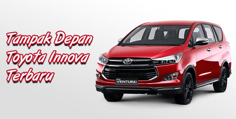 Toyota Innova Terbaru Eksterior Depan