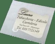 Etichette Chiudipacco Laura