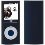 CUSTODIA SILICONE PER MP3 IPOD NANO A/MPC-N4S QUARTA GENERAZIONE NERA